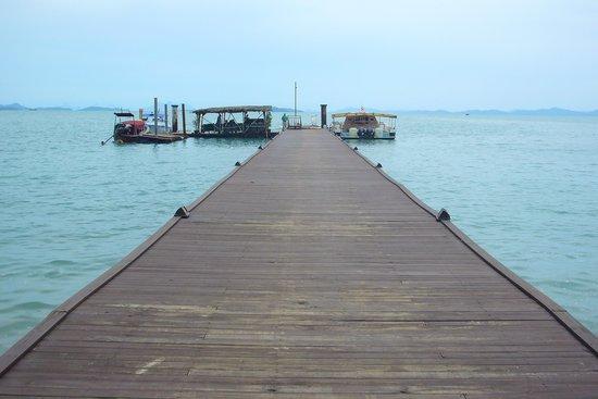 The Village Coconut Island Beach Resort: The Village pier