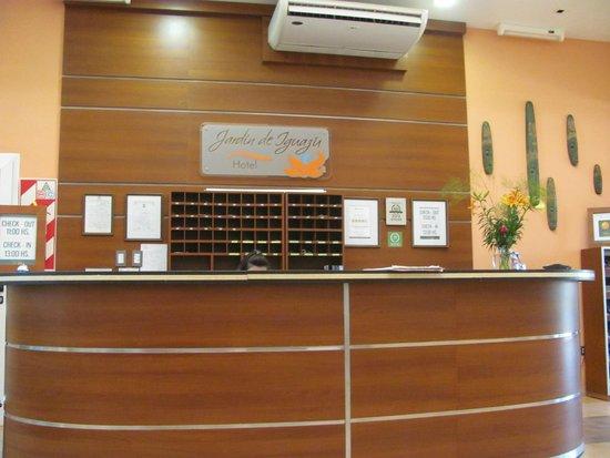 Hotel Jardín de Iguazú: Recepción