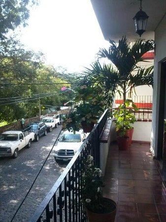 Suites Plaza Del Rio: vista desde cuarto