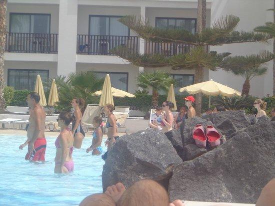 Hesperia Lanzarote: Aqua fit
