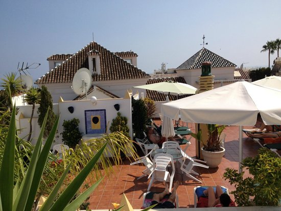 Hotel Puerta del Mar: Lovely roof top terrace (and pool)