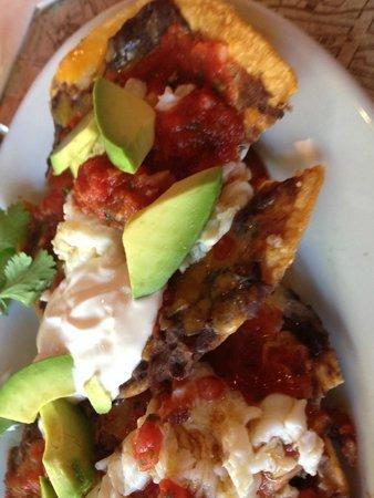 Alexis Baking Company: Huevos Rancheros with avocado