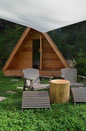 Camp Bled: LA CAPANNA