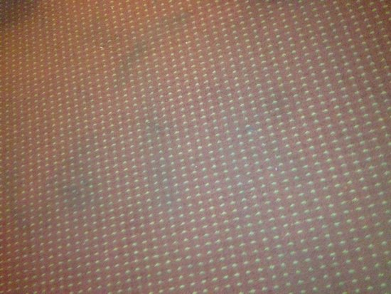 Days Inn Marietta-Atlanta-Delk Road : Stains on the floor