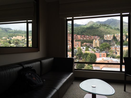 NH Collection Bogota Hacienda Royal: View to the east from my room