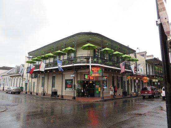 The Westin New Orleans Canal Place: Bourbon street de jour