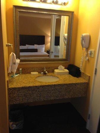 Best Western Plus Vermilion River Suites Hotel : Vanity