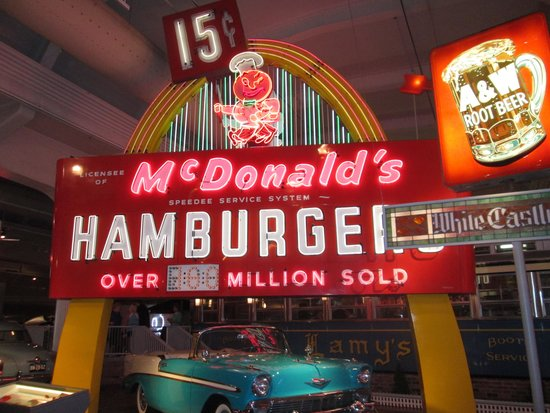 Henry-Ford-Museum: early McDonalds