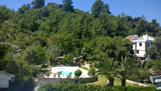 Mersoy Exclusive Aqua Resort: Вид из нашего номера