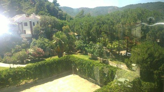 Mersoy Exclusive Aqua Resort: Прекрасный вид из окна