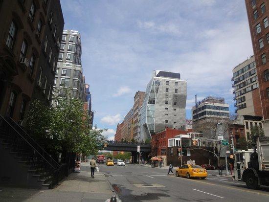 High Line : Вид на Парк Хай-Лайн