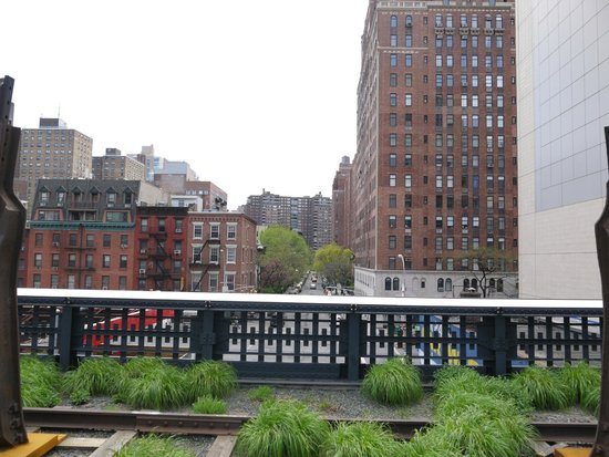 High Line : Вид с Парк Хай-Лайн