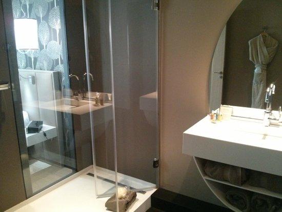 Best Western Premier Why Hotel: Nice, big shower