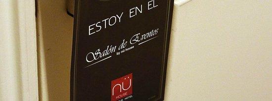 NU House Boutique Hotel: Nu Events, Salón de Eventos