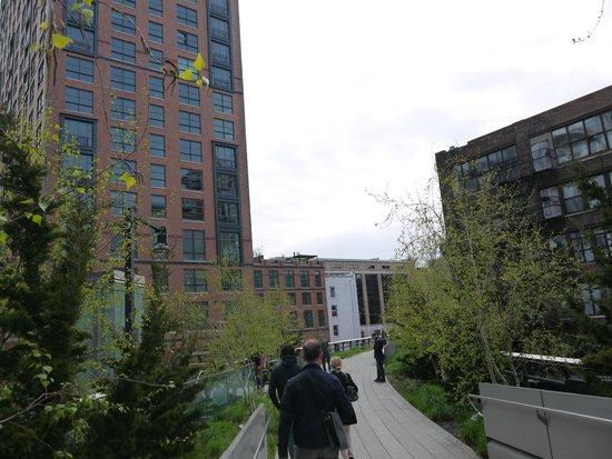 High Line : Парк Хай-Лайн