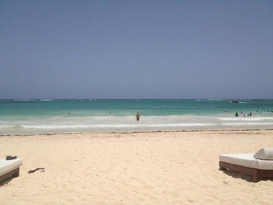 Paradisus Punta Cana Resort : View from RS beach