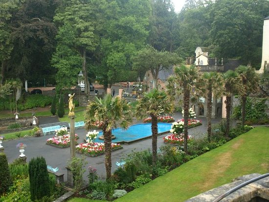 Portmeirion, UK: Gardens
