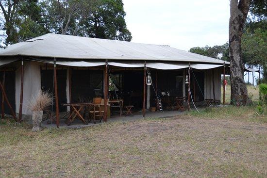 Lemala Mara Ndutu Tented Camp: lounge
