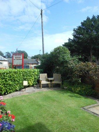Holden House B & B : giardino esterno