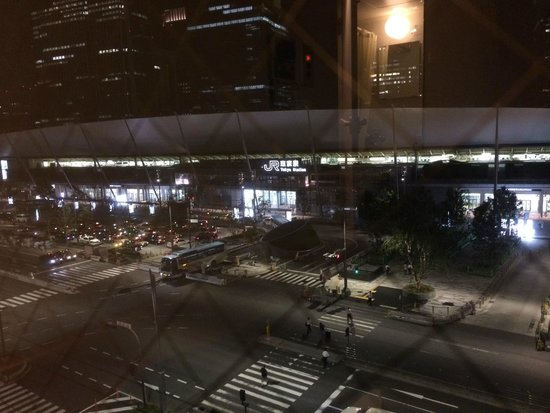 Hotel Heimat : View from Room 707 at night
