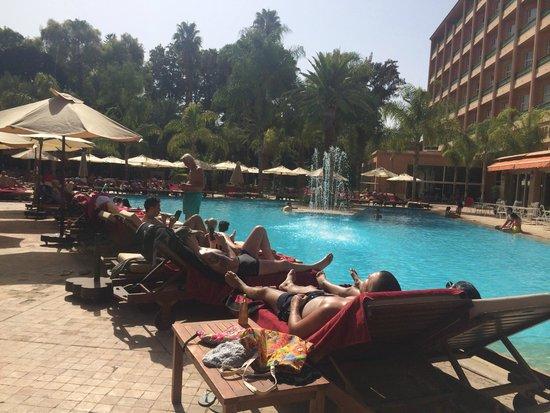 Es Saadi Marrakech Resort - Hotel : piscine magnifique