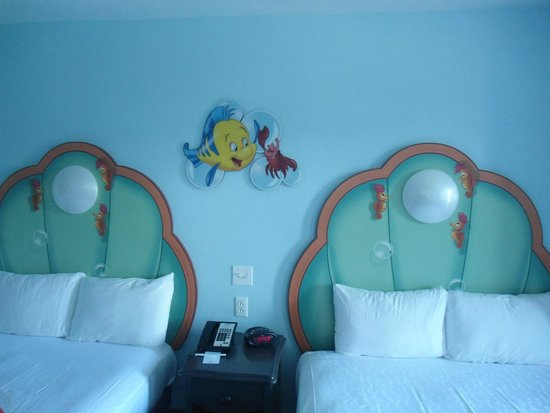 Disney's Art of Animation Resort: Detalles en habitación