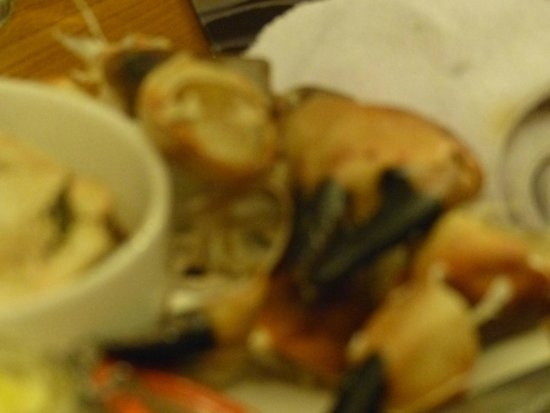 Isle of Coll Hotel: Crab Claws