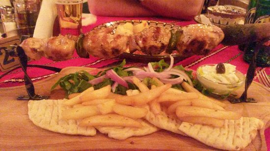 Dionysos Taverna Restaurant: The Best souvlaki