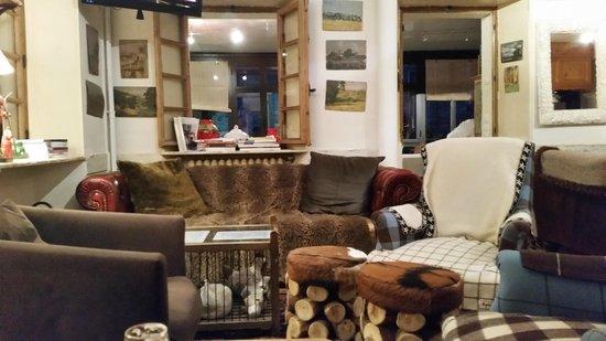 Hotel Le Marais : reception...
