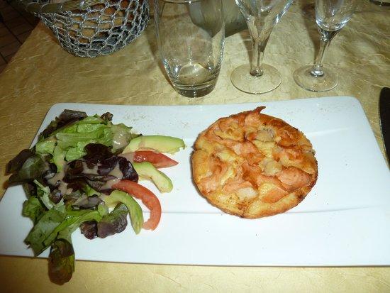 Hotel Carayon : Feuilleté se St Jacques et Saumon
