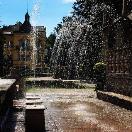Jeux d'eau d'Hellbrunn : Trick fountains