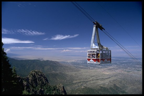 High Finance Restaurant : Sandia Peak Tram