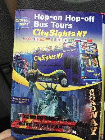 CitySights NY: don't take it