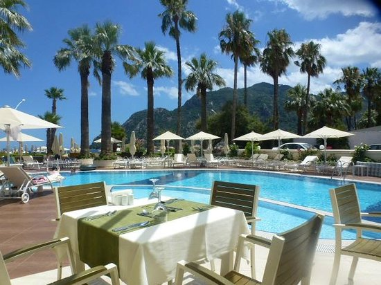 SENTIDO Sea Star: View from the outside restaurant