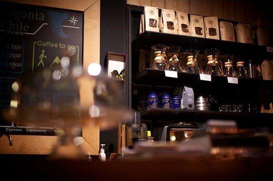 Kau Lodge: Amazing fresh ground coffee