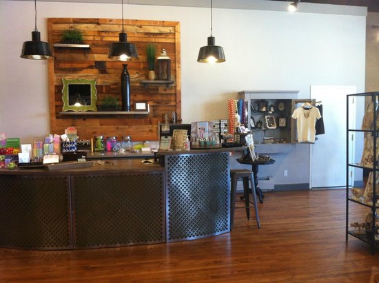 Serendipity: our beautiful check-out counter