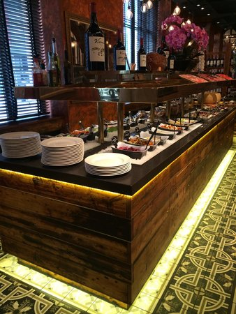 Fazenda Rodizio Bar and Grill: Salad bar