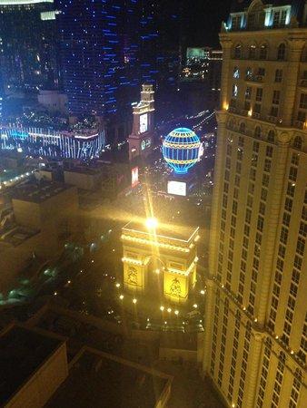 Paris Las Vegas: Vista do quarto