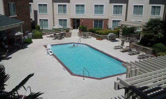 Swimming Pool Picture Of Hawthorn Suites By Wyndham Dallas Park Central Dallas Tripadvisor