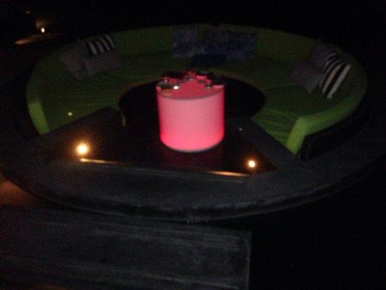 W Koh Samui: Il nostro tavolo!!