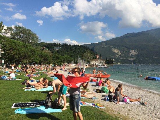 Riva Del Garda, อิตาลี: Sabbioni beach