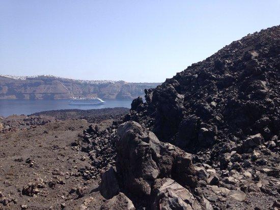 Santorini Volcano: Top