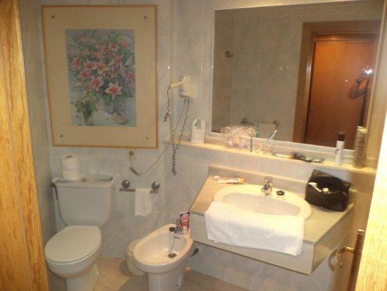 Exagon Park: salle de bains