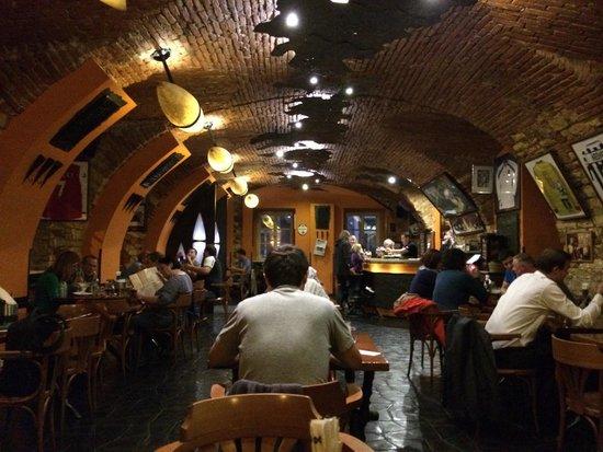 Restaurant Bredovsky Dvur : Intérieur