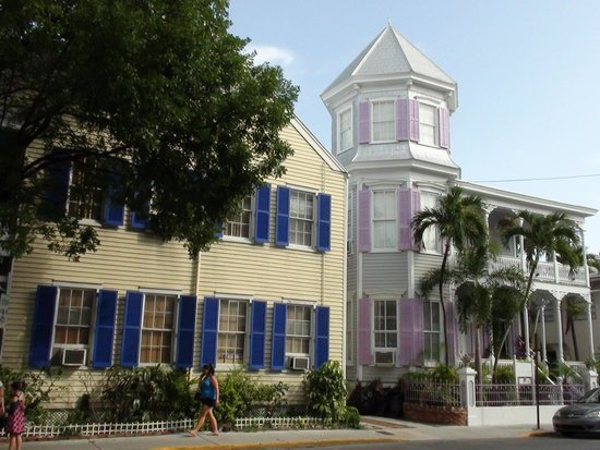 Best Western Hibiscus Motel: Una casetta a key west