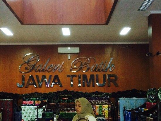 Galeri Batik Jawa Timur