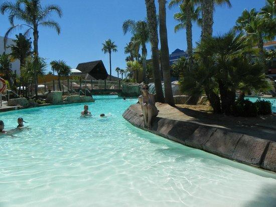 Playaballena Spa Hotel : Una parte de la piscina, un paraiso