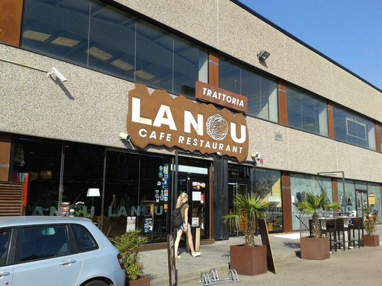 Restaurant la Nou: Entrada
