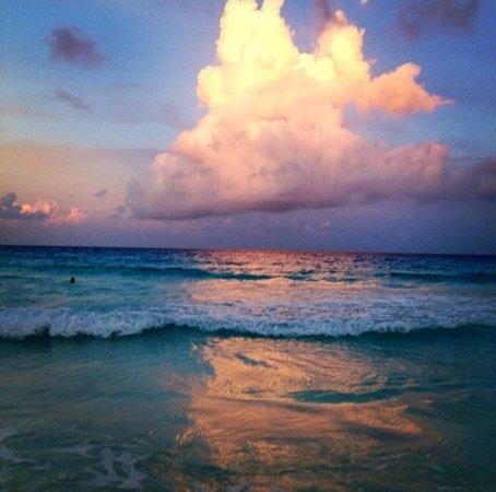 Paradisus Cancun: The sunset