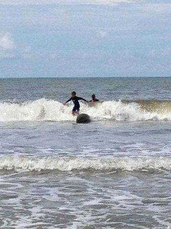 Villas Kalimba : learn to surf